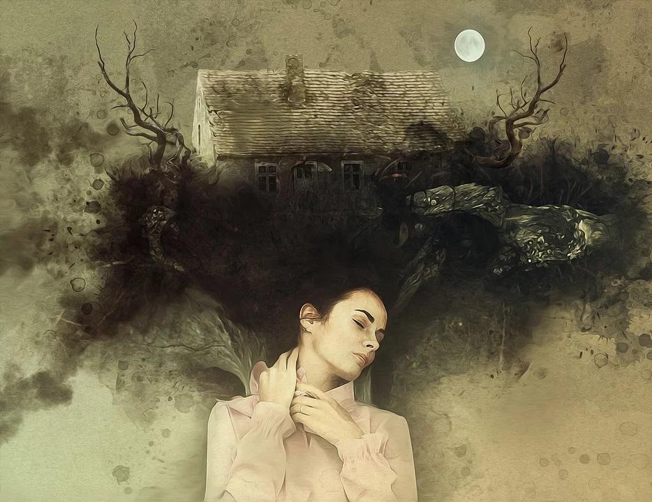 تفسير حلم رؤية الجن داخل بيت مهجور في المنام لابن سيرين